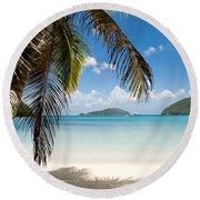Caribbean Afternoon Round Beach Towel