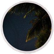 Caribbean Nights Anse Chastanet Round Beach Towel