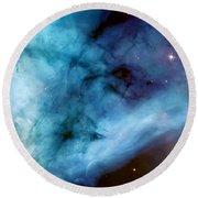 Carina Nebula #5 Round Beach Towel