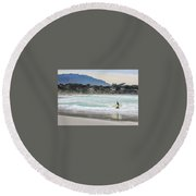 Carmel Surf Round Beach Towel