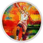 Carmelo Anthony New York Knicks Round Beach Towel