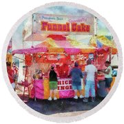 Carnival - The Variety Is Endless Round Beach Towel