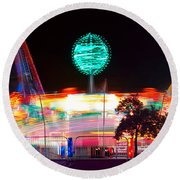 Carnival Excitement Round Beach Towel by James BO  Insogna