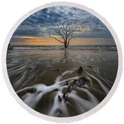 Carolina Lowcountry Round Beach Towel