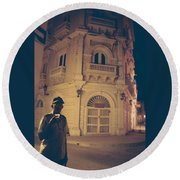 Cartagena Watchman Round Beach Towel