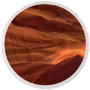Carved By Nature Round Beach Towel