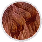 Carved Wave. Round Beach Towel