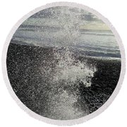 Cascade Round Beach Towel