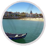 Cascais Round Beach Towel