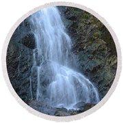Casper Wy Waterfall 1 Round Beach Towel