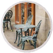 Cast Iron Garden Furniture Round Beach Towel