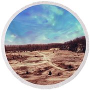 Castalia Quarry Reserve Dreamscape Round Beach Towel