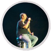 Casting Crowns Round Beach Towel