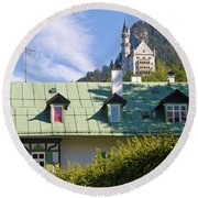 Castle 3 Round Beach Towel
