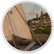 Castle Hill Round Beach Towel