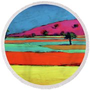 Castlemorton V  Round Beach Towel
