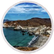 Catalina Island Round Beach Towel