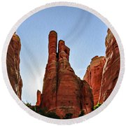 Cathedral Rock 05-155 Round Beach Towel