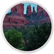 Cathedral Rock Rrc 081913 Ab Round Beach Towel