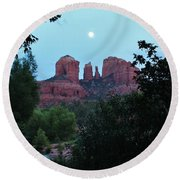 Cathedral Rock Rrc 081913 Ac Round Beach Towel