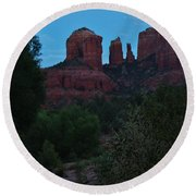 Cathedral Rock Rrc 081913 Ad Round Beach Towel