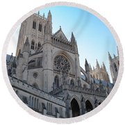 Cathedral Travel Round Beach Towel