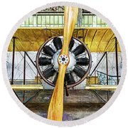 Caudron G3 Propeller - Vintage Round Beach Towel