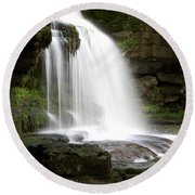 Cauldron Falls, West Burton, North Yorkshire Round Beach Towel