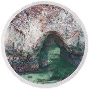 Cave Of Wonders Round Beach Towel