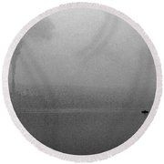 Cayuga Solitude Round Beach Towel