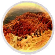 Cedar Breaks 2 Round Beach Towel