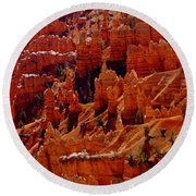 Cedar Breaks 3 Round Beach Towel