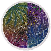 Celebration Round Beach Towel