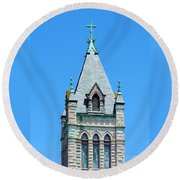 Central United Methodist Church Of Asheville Nc Round Beach Towel