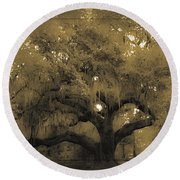 Centurion Oak Round Beach Towel