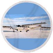 Cessna 208 Caravan Round Beach Towel