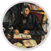 Cezanne: Geffroy, 1895-96 Round Beach Towel