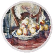 Cezanne: Still Life Round Beach Towel