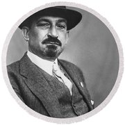 Chaim Weizmann  Round Beach Towel
