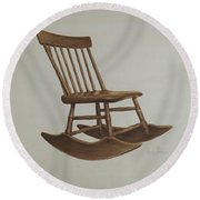Chair Round Beach Towel