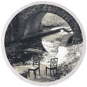 Chairs - Stone Bridge Round Beach Towel