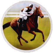 Champion Hurdle - Winner - Morley Street Round Beach Towel
