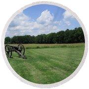 Chancellorsville Battlefield 2 Round Beach Towel