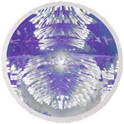 Chandelier 2 Round Beach Towel