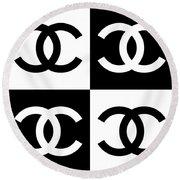 Chanel Design-5 Round Beach Towel