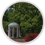 Chapel Hill Old Well Round Beach Towel