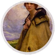 Charles Amablelenoir Labergere Large Round Beach Towel