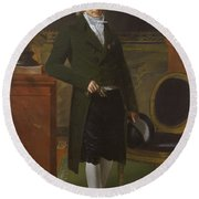 Charles Maurice De Talleyrand Prigord 17541838 Prince De Talleyrand Round Beach Towel