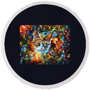 Charming Round Beach Towel