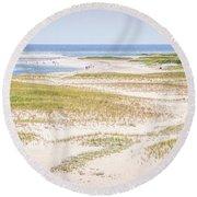 Chatham Lighthouse Beach Round Beach Towel